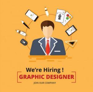 We are hiring! – Graphic Designer