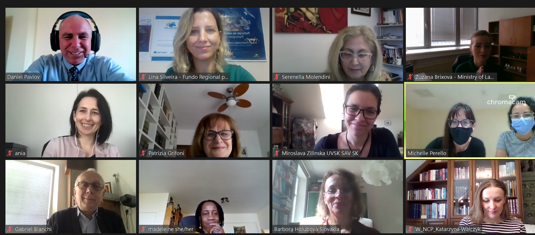 ATHENA project: gathered with the first nominated Advisory members