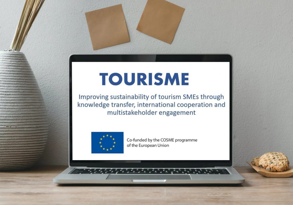 New Project Tourisme – Improving sustainability of tourism SMEs through knowledge transfer, international cooperation and multistakeholder engagement